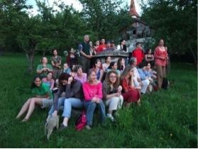 2008 - Group photo in Bikfalva