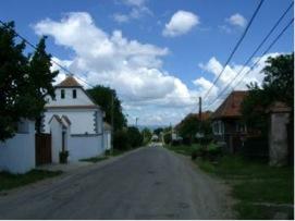 2008 - Main street of Bikfalva